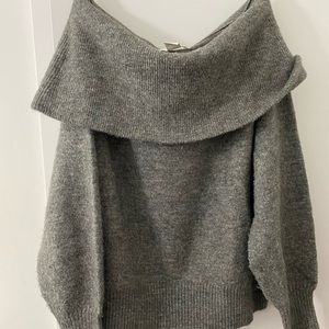 H & M off the shoulder sweater